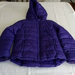 Old Navy Puffer Coat Purple Size Small (6/7)